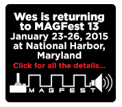 Wes Returns to MAGFest